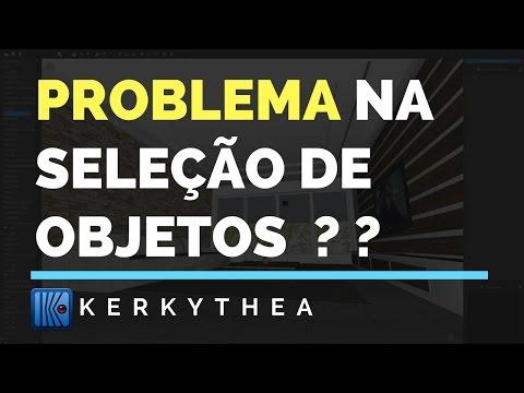 Solucionando Problemas de Seleção em Notebooks: Tutorial Kerkythea