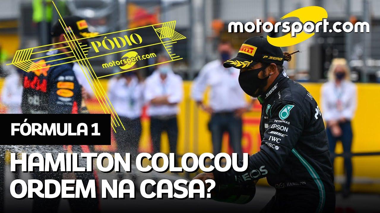 PÓDIO: GP da Estíria de F1 tem batida de ferraristas, show de Hamilton e Pérez 'voando'
