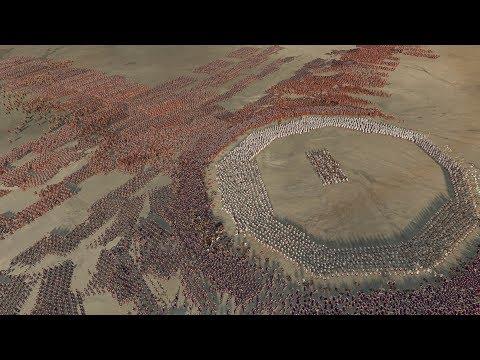 2.400 SPARTANS vs 14.100 BEST ROMAN UNIT - Total War: ROME 2 (4K Gameplay)