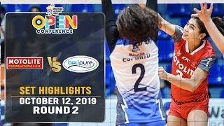 Motolite vs. BaliPure | Set 2 Highlights - October 12, 2019 | #PVL2019