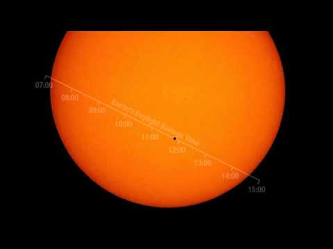 2016 Mercury Transit Path