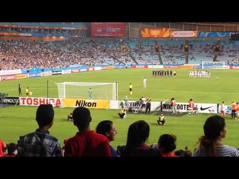 Japan v UAE Asian Cup Penalty Shootout