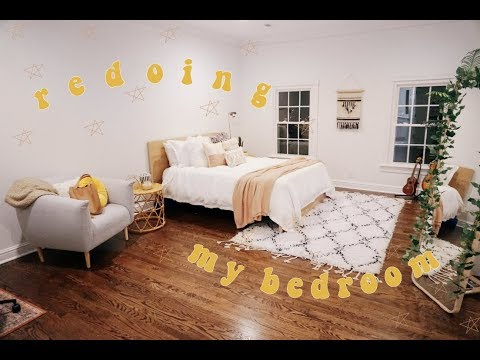 Redoing My Bedroom 2019 ll aesthetic and pintrest