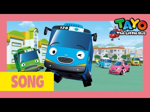 Tayo Opening Song L Tayo Version L Tayo The Little Bus
