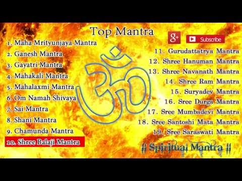Top 19 Mantras ( Full Songs ) || Shiv mantra || Ganesh Mantra || Sai Mantra || Hanuman Mantra