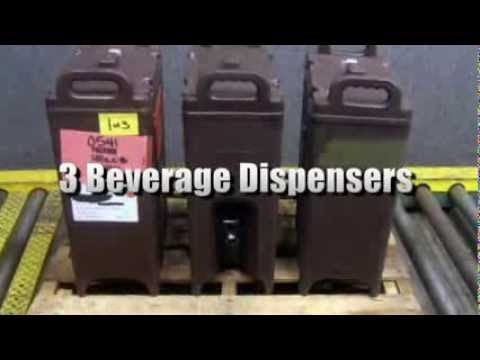 3 Beverage Dispensers By Sllite And Cambro On GovLiquidation.com