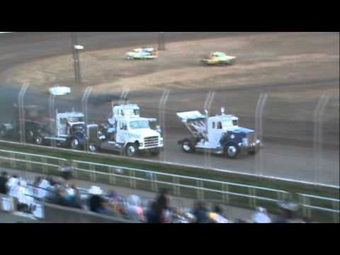 Grays Harbor Raceway, September 1, 2012, Rolling Thunder Big Rigs Heat Races 1 and 2