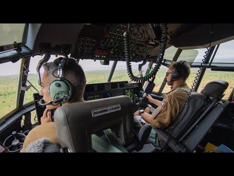 [#WebTVAIR] Épisode 32 - Première mission opérationnelle du détachement C-130J à Niamey