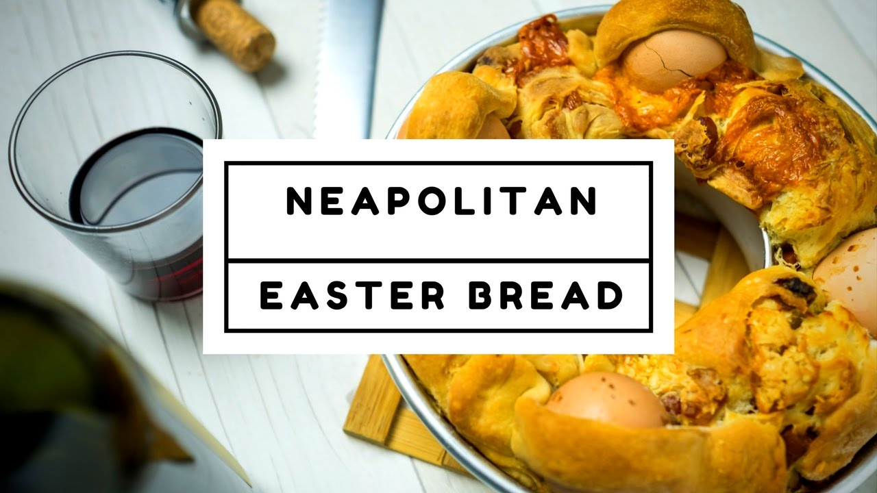 Neapolitan Easter Bread - Casatiello Recipe - YouTube