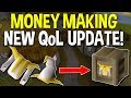 A New QoL Update Created A Huge Opportunity! Money Making Oldschool Runescape! [OSRS]