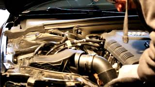 AEM Cold Air Intake install Audi A4 B8.5