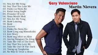 Martin Nievera, Gary Valenciano Greatest Hits 2021 - Opm Tagalog Love Songs 2021