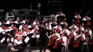 "Christmas Concert School ""Joseph Francois Perrault"" Dance of the Harlequins,String & Cello"