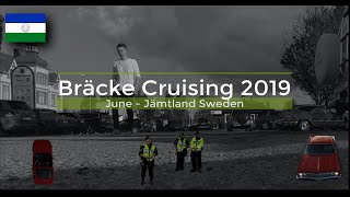 Car cruising in Bräcke Sweden 2019 (Bräcke Cruising Week)