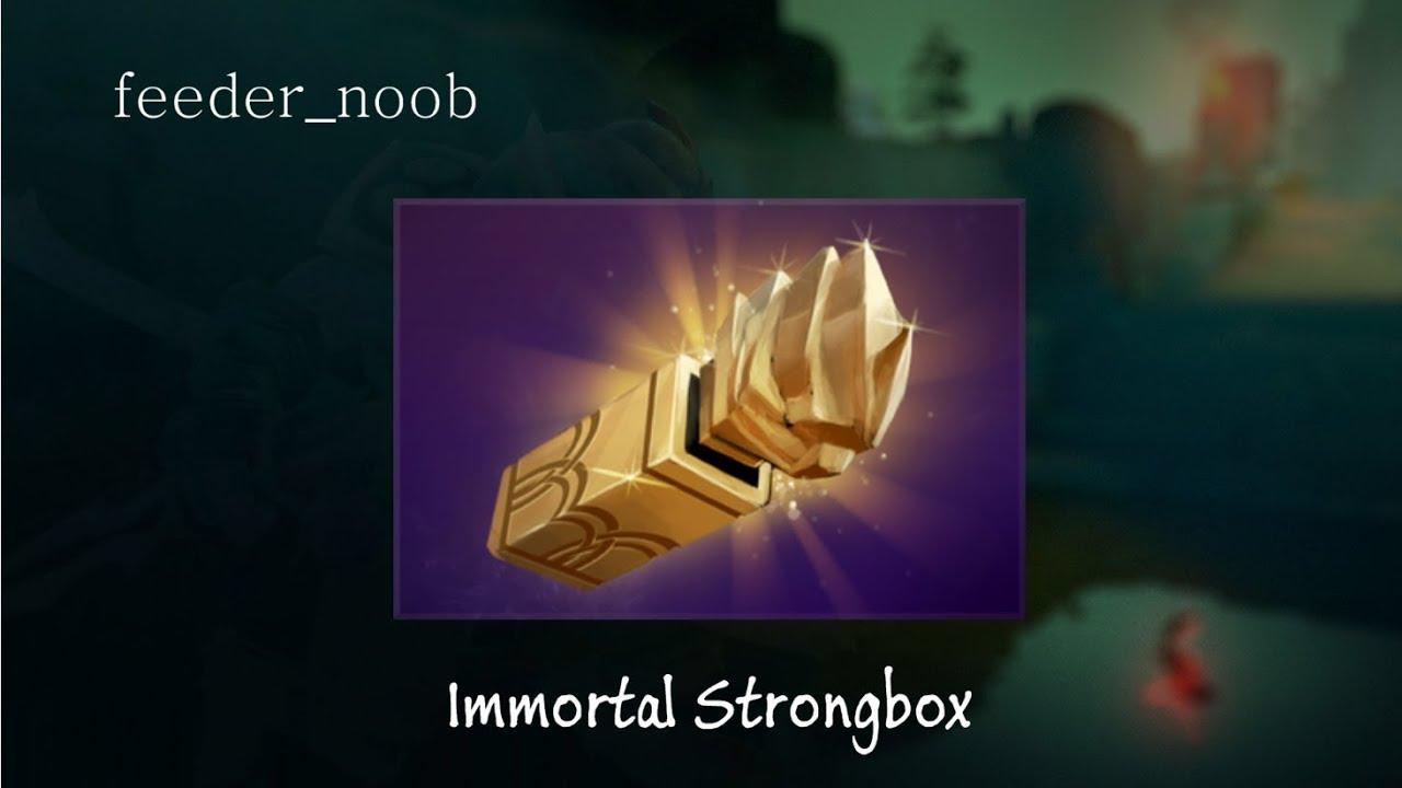 Compendium Immortal Items: Compendium Immortal Strongbox Unbox And Item