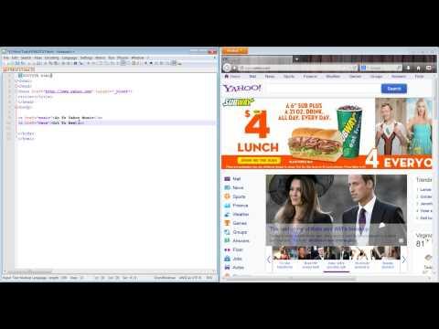 HTML 5 Base Tag