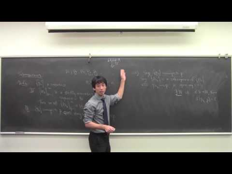 Math 131 102416 Cauchy Sequences, Completeness of Real Numbers