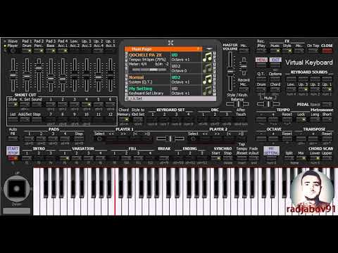 Mənim Leylam - KORG PA4X - PC