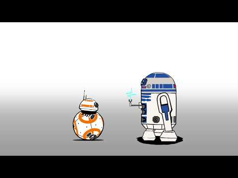 [스타워즈] 세기의 대결, BB8과 R2D2