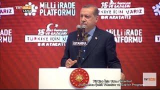 Cumhurbaşkanı Erdoğan'ın Konuşması - 15 Temmuz Şehit Yakınları ve Gaziler Programı - TRT Avaz