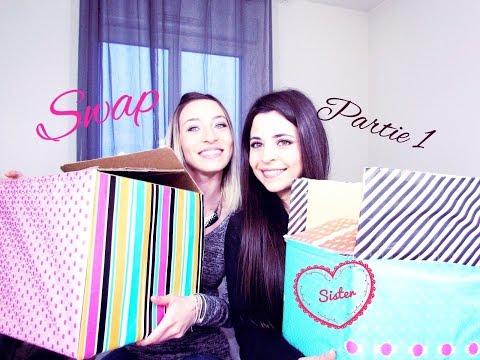 Swap Partie 1 / On déballe nos paquets ensemble♡