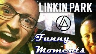 Linkin Park || Funny Moments! :)