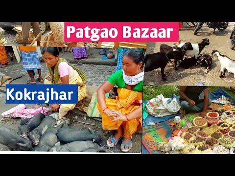 Weekly markets in Patgaon, Kokrajhar #women market scene # kokrajhar Bazaar,Assam India