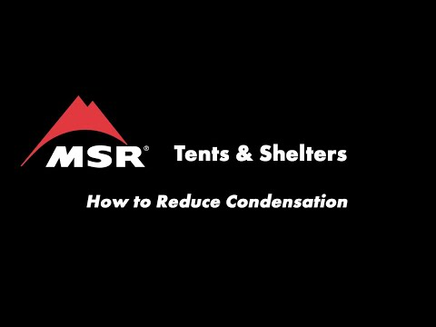 MSR Tents How to prevent tent condensation : condensation inside tent - memphite.com