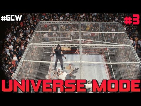 """WWE Hell In A Cell 2016! WWE 2K17 Universe Mode Ep #3 - """"Hell In A Cell"""" Universe Mode Livestream"""