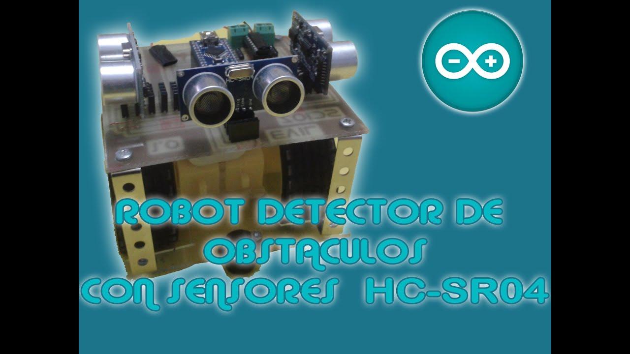 Robot detector de obstáculos hc sr doovi