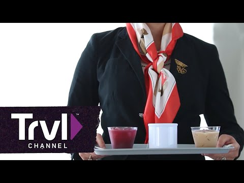 How to Order Cocktails on a Plane - Travel Channel