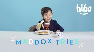 Maddox Tries | Kids Try | HiHo Kids