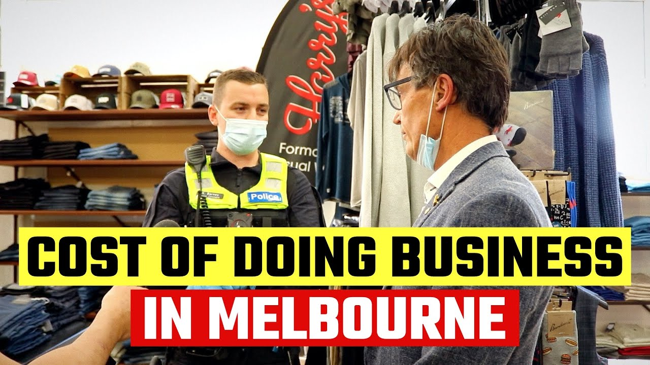 Police threaten cloths rshop in Melbourne Australia with MASSIVE$10.000 fine for opening his busines