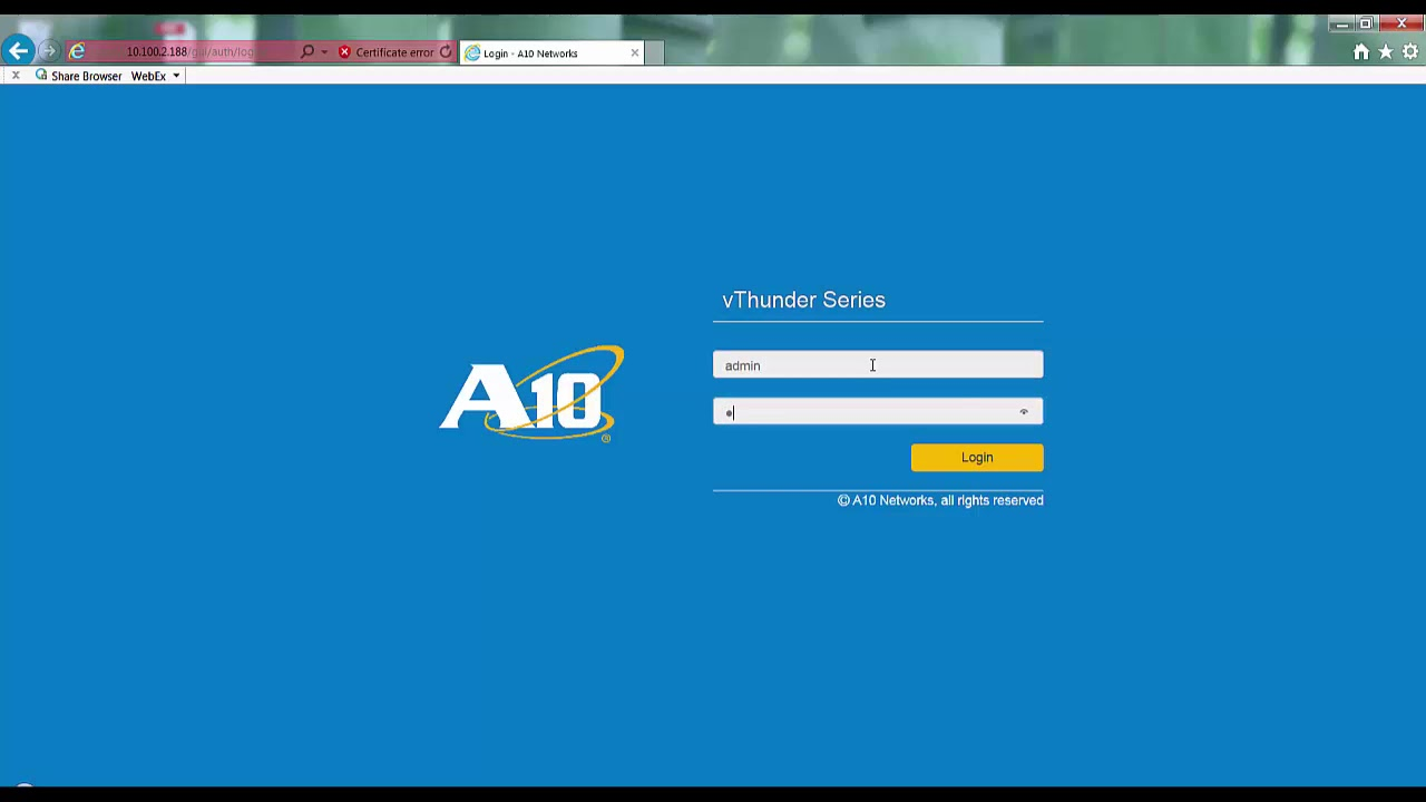 A10 Thunder ADC with Exchange 2016 Deployment Overview