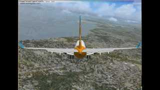Flight Simulator X Gold Edition: Landing at Oakland