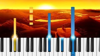 The Lion King This Land - Easy Piano Tutorial.mp3