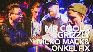 The O-Zone Battles: Mr Cool & Grizzly vs Nicko Mack & Onkel Fix