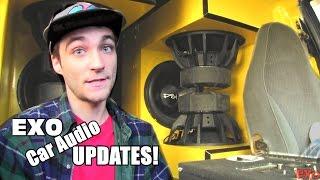 EXO Car Audio Updates: Crescendo Amps / Designing 4th & 6th Order Bandpass Box Plans