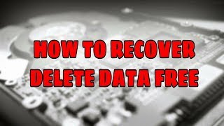 How to recover Hard disk|Memory card|Pen drive delete and format data Bangle  tutorial