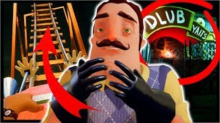 HIS ROLLERCOASTER & HOSPITAL FEAR NIGHTMARE!? | Hello Neighbor Final Build Act 2 (Full Game)