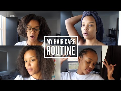 MY RELAXED HAIR CARE ROUTINE | Only Bells