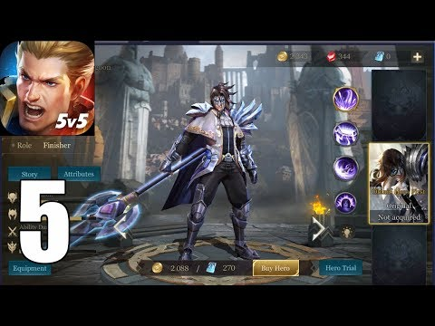 Arena of Valor ( IOS / Androi ) Gameplay #5 - Zanis
