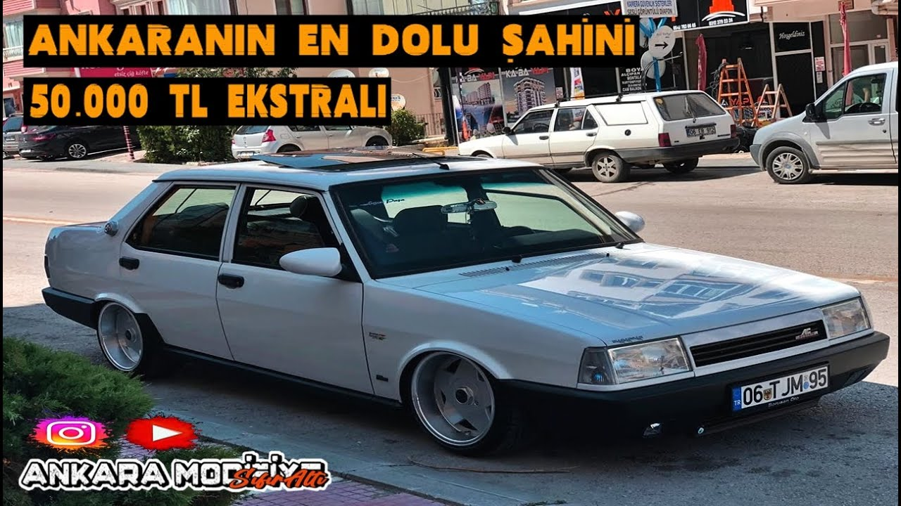 Tofaş Görünümlü Bmw - 50.000TL Ekstralı - 06 Ankara Modifiye Araç Tanıtımı