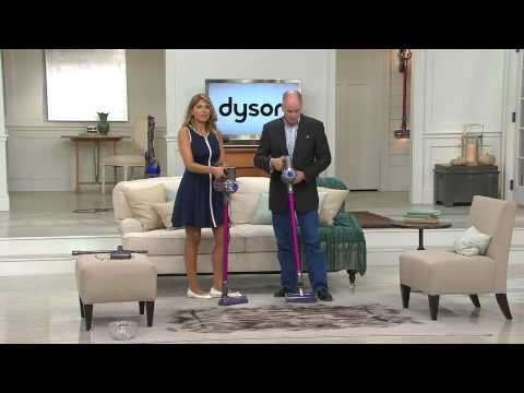 Dyson DC59 Motorhead Cordless Vacuum w/ 7 Attachments with Dan Hughes