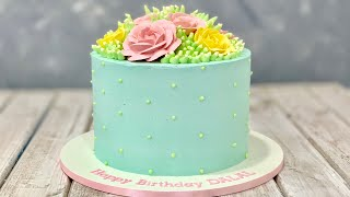 Floral Pastel Cake