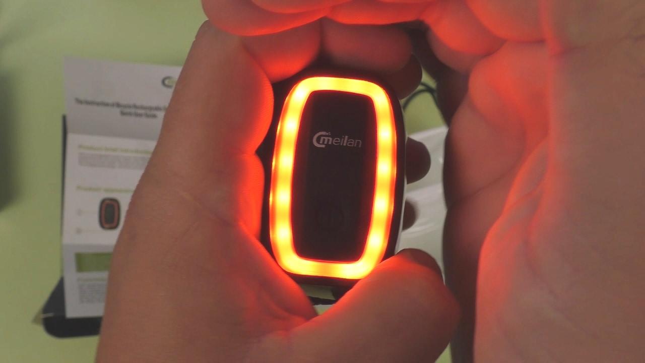Задний фонарь с поворотником и лазерами Led Laser X5 - YouTube