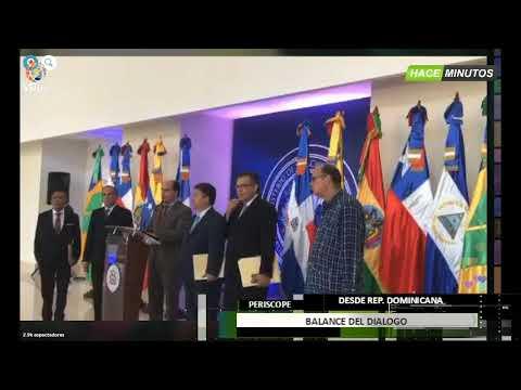 """República Dominicana. Borges: """"No aceptaremos ningún acuerdo que quite democracia a Venezuela""""-VPItv"""