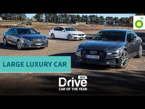 2020 Best Large Luxury Car: Audi A6, Lexus ES, BMW 5-series, | 2020 Drive Car Of The Year