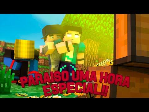 #SemanaStream Minecraft: PARAÍSO - UMA HORA!! #1HoraDeParaiso