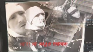 Спайсеры одолели ломать подъезды в Сургуте